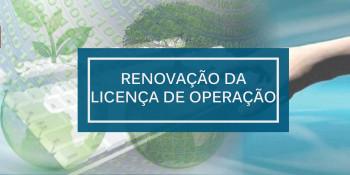 LO – Renovação de Licença de Operação